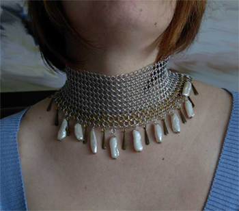 cleopatra regal necklace