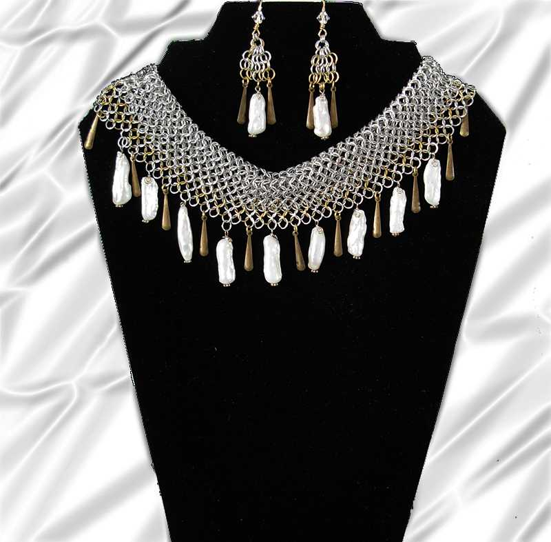 cleopatra regal necklace set