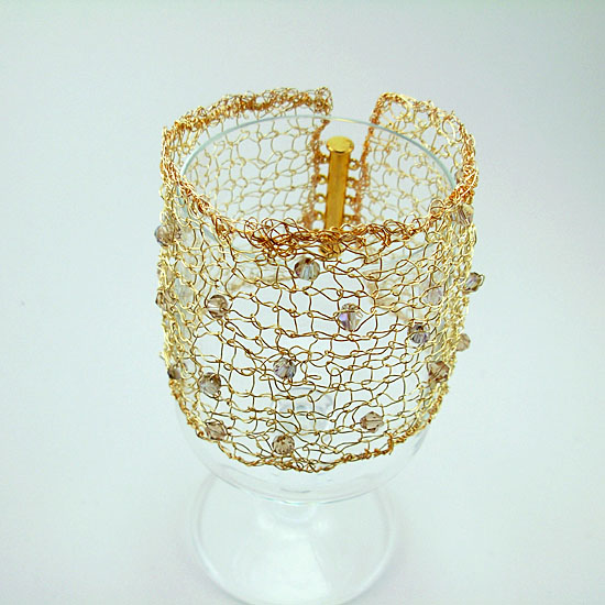 images/gold knitted cuff with crystals.jpg