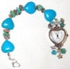 Turquoise heart watch