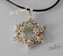 sterling silver star of david with pearls