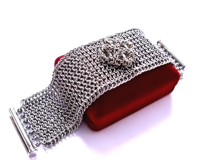 Stainless Steel Liquid Metal Bracelet